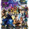 Детски календар Фортнайт