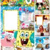 Детски Календар 2020 спондж боб квадратни гащи