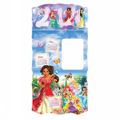 Детски календар 2021 принцеси